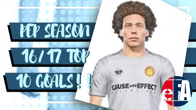 PEP Season 16/17 Top 10 Goals!!