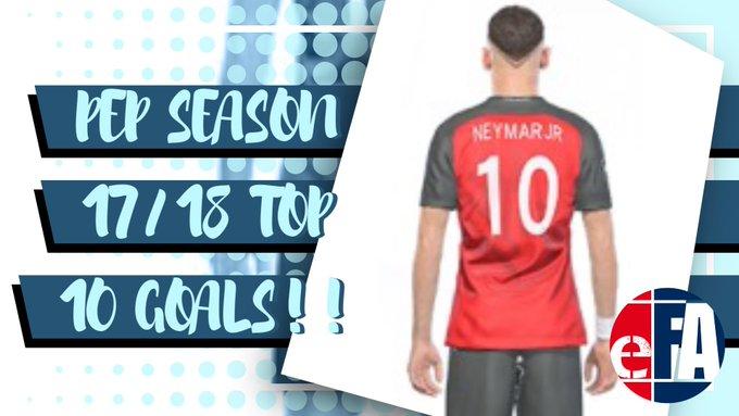 PEP Season 17/18 Top 10 Goals