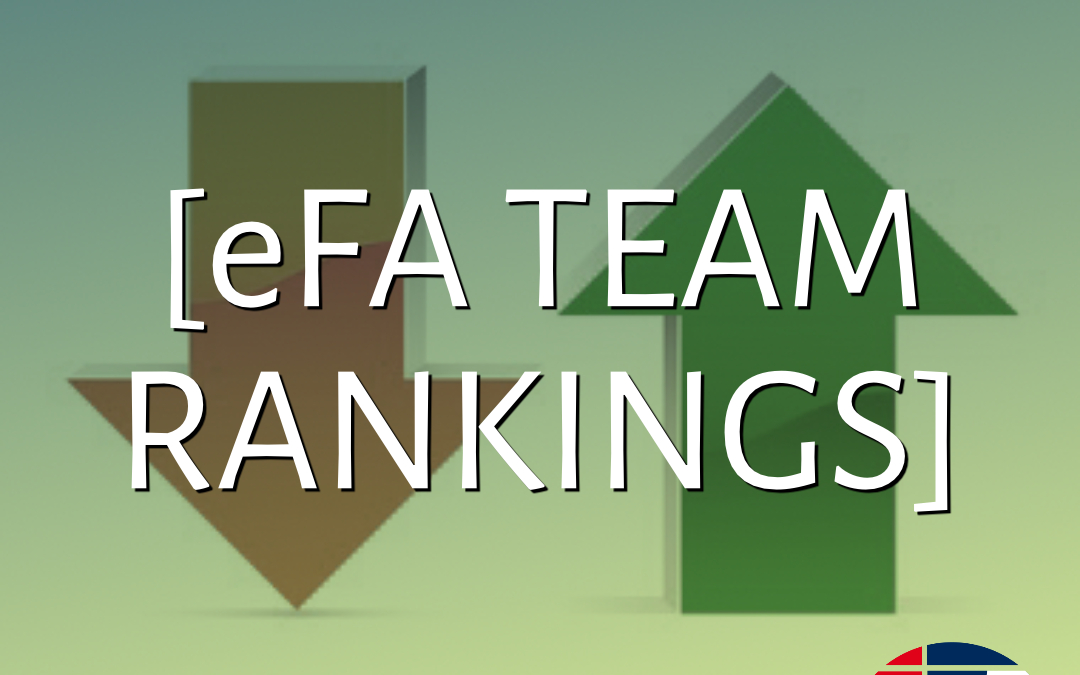 UPDATED 2020: Official Team Rankings