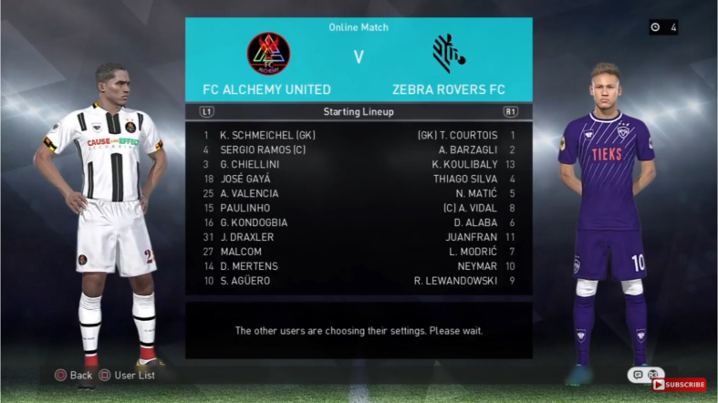 Match Report – 2016/17 – Alchemy United vs Zebra Rovers